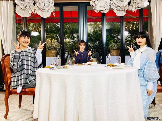 グータンヌーボ2/#94 村上佳菜子×鶴嶋乃愛×西野七瀬