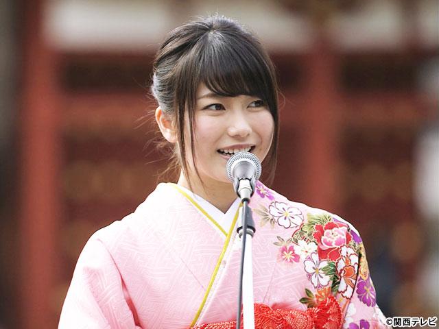 【会員無料】横山由依(AKB48)ちゃんロケ中オフショット/第7弾 着物姿のゆいはん編