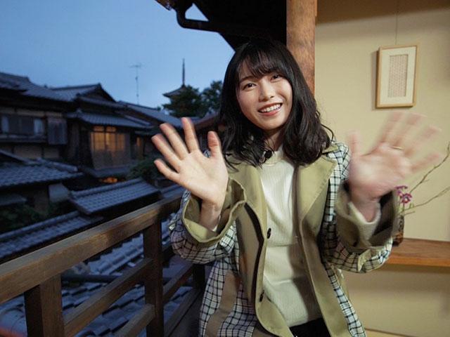 【会員無料】横山由依(AKB48)ちゃんロケ中オフショット/第56弾 由依ちゃん「竹」になる?