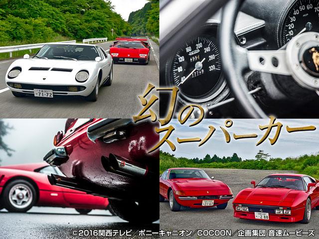 石岡雅樹 (関西テレビ)/幻のスーパーカーシリーズ