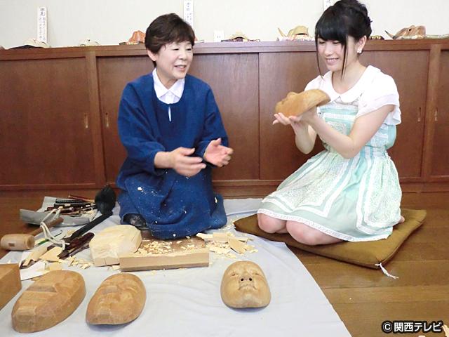 横山由依(AKB48)がはんなり巡る 京都 美の音色 /【番外編】 第12話 京都の職人が生み出す音色