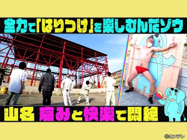 見逃し無料配信/爆裂バラエティ シャバめの象さん#7 全力で「はりつけ」を楽しむんだゾウ 2021/05/15放送分