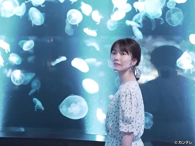 横山由依(AKB48)がはんなり巡る 京都 いろどり日記/第95回 京都水族館で夜の京旅