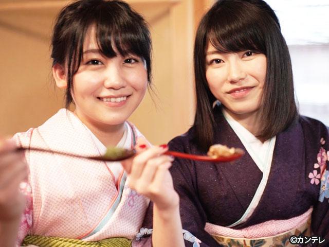 【会員無料】横山由依(AKB48)ちゃんロケ中オフショット/第19弾 with 小嶋真子ちゃん編