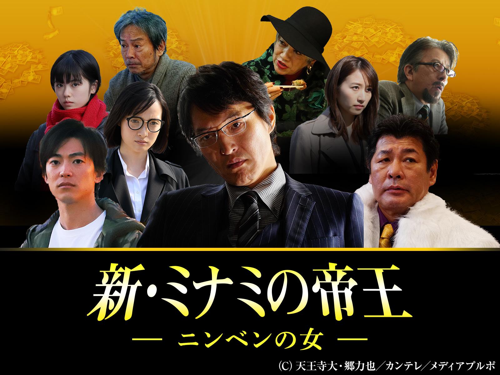 新・ミナミの帝王/SPドラマ15 ニンベンの女