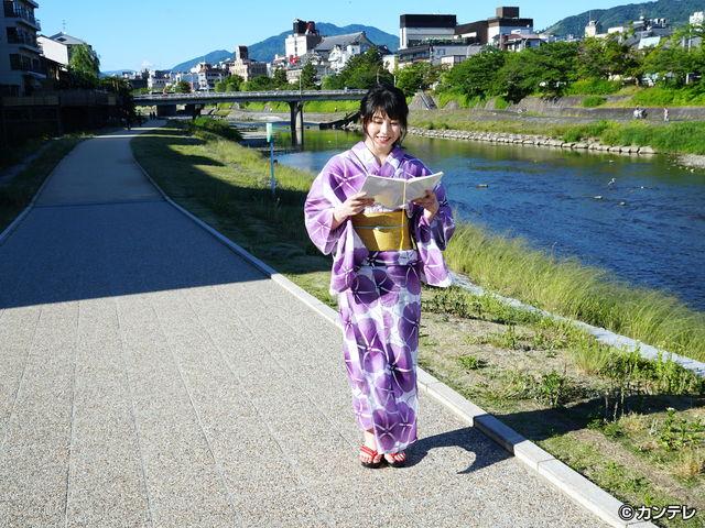横山由依(AKB48)がはんなり巡る 京都 いろどり日記/第48回 蒸し暑い夏こそ、京都中華三昧