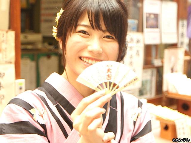 【会員無料】横山由依(AKB48)ちゃんロケ中オフショット/第12弾 浴衣姿のゆいはん編