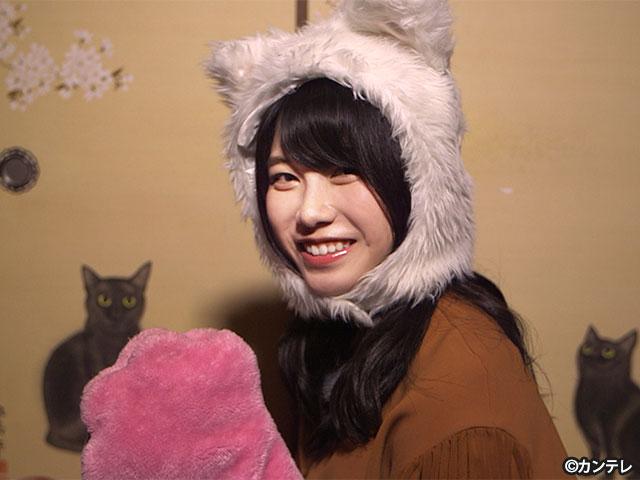 【会員無料】横山由依(AKB48)ちゃんロケ中オフショット/第49弾 猫猫寺