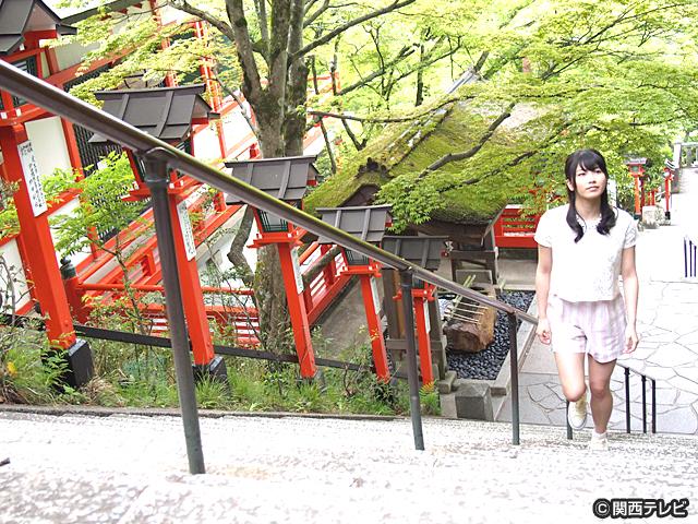 横山由依(AKB48)がはんなり巡る 京都 いろどり日記/第11話 京の奥座敷 新緑の鞍馬・貴船
