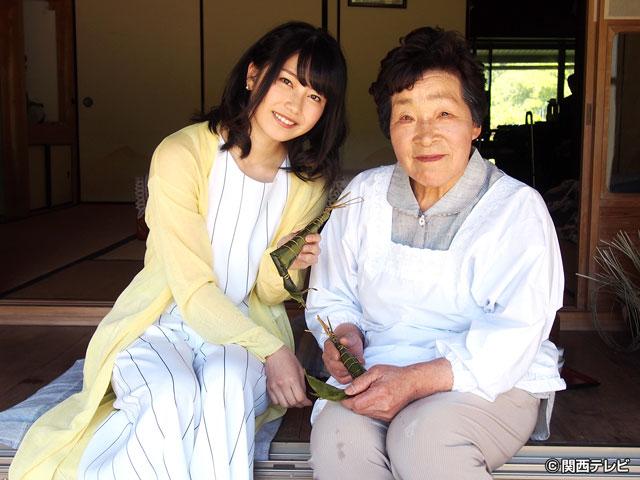 横山由依(AKB48)がはんなり巡る 京都 いろどり日記/第36回 平家落人の里 新緑の花脊