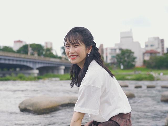 【会員無料】横山由依(AKB48)ちゃんロケ中オフショット/第61弾 ゆいはん、夏の思いを語る