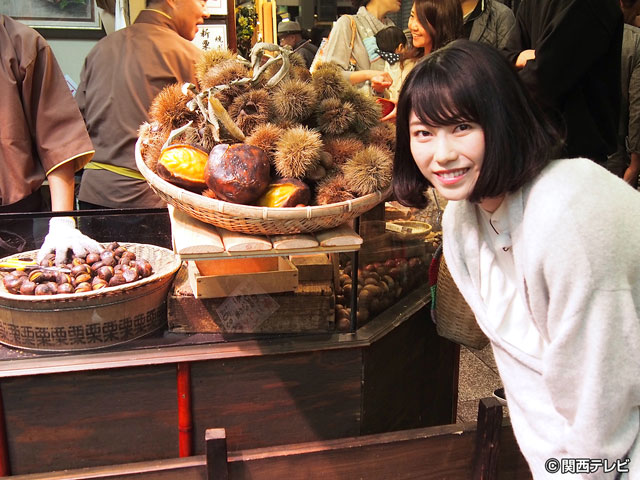 横山由依(AKB48)がはんなり巡る 京都 いろどり日記/第41回 秋の京グルメはとってもおいしおす