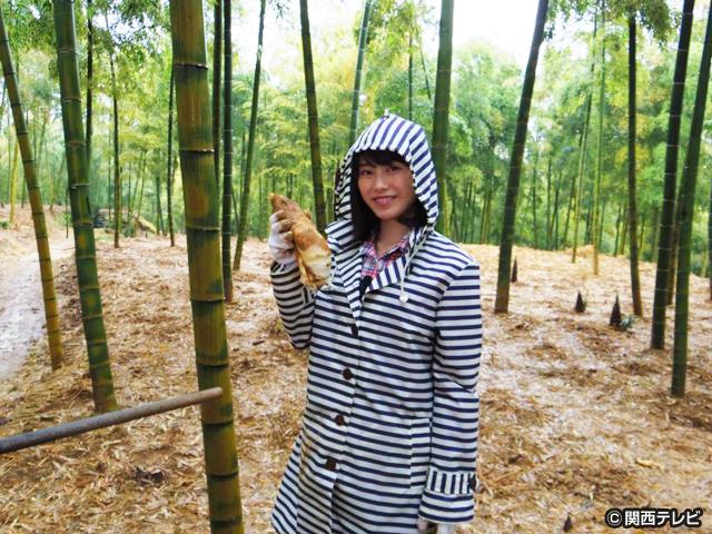 横山由依(AKB48)がはんなり巡る 京都 いろどり日記/第23話 日本一のたけのこを求めて
