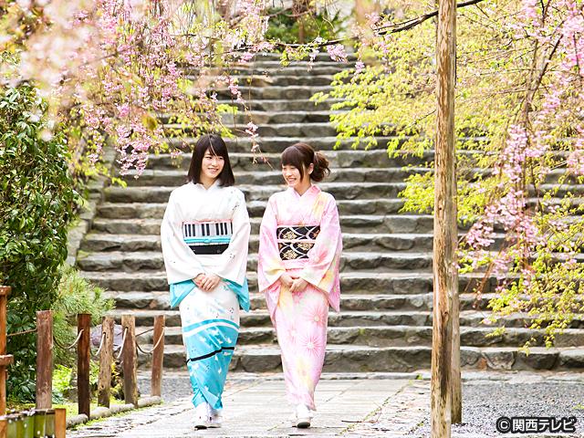 横山由依(AKB48)がはんなり巡る 京都 いろどり日記/【番外編】第22話 〜ゆいはんと川栄 春爛漫の嵐山二人旅〜